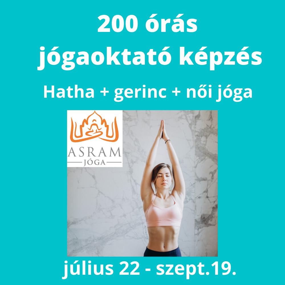200 órás jógaoktató képzés