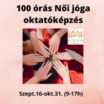 100 órás Női jóga oktatóképzés 2021. szept.16-tól