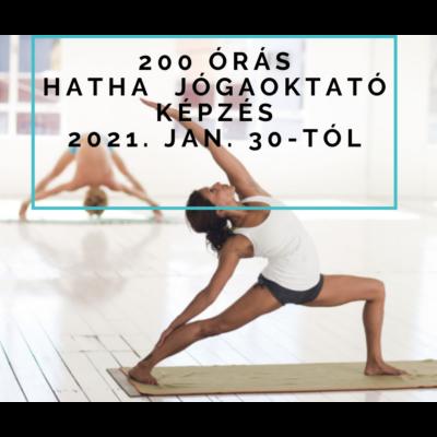 Hatha Jóga 200 órás Oktatóképzés 2021.január 30.-tól