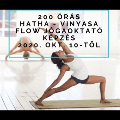 200 órás Hatha - Vinyasa Flow Jógaoktató képzés okt. 10-től
