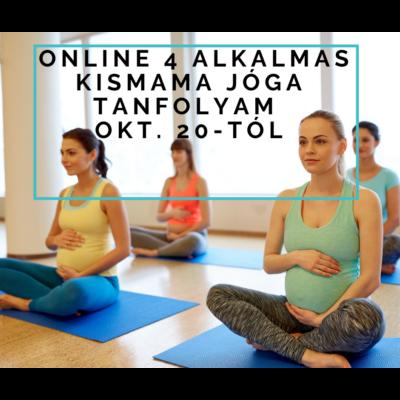 online 4 alkalmas kismama jóga tanfolyam okt. 20-tól
