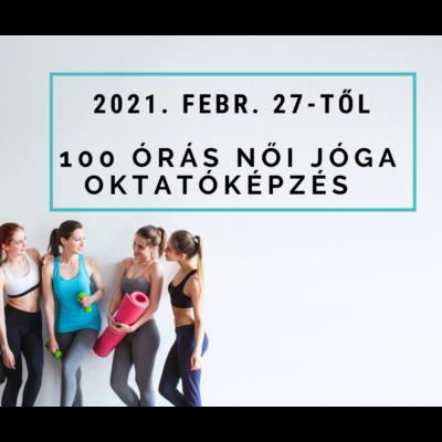 100 órás női jóga oktatóképzés 2021. február 27-től