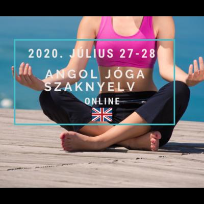 Online - Angol Jóga szaknyelv -július 27-28