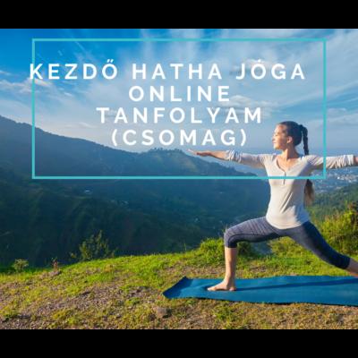 Kezdő Hatha jóga – előre felvett tanfolyam (csomag)