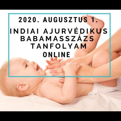 Indiai ajurvédikus babamasszázs tanfolyam -aug. 1