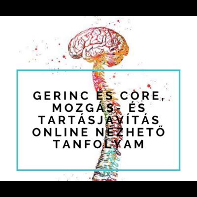 Gerinc és core, mozgás- és tartásjavítás online nézhető tanfolyam