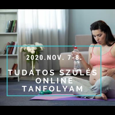 Tudatos szülés online tanfolyam nov. 7-8.