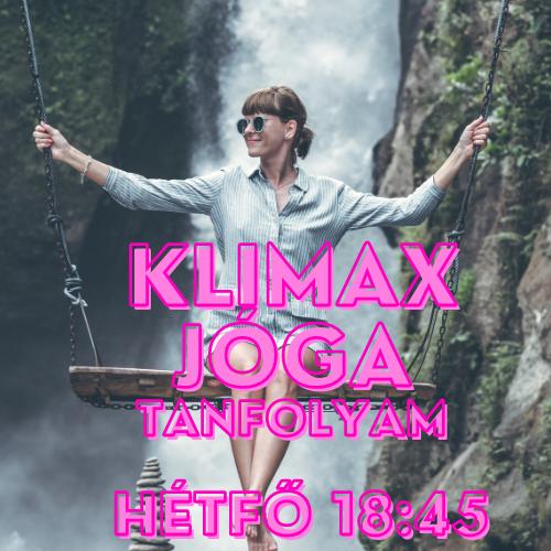 Klimax jóga tanfolyam - május 17-től